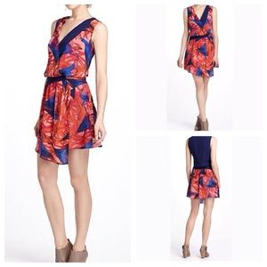 Anthropologie Leifsdottir Malva Floral Dress